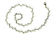 "Irish Thorn 16"" Adj. Twig Necklace by Michael Michaud #7945BZWP"