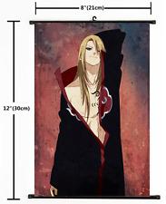 Hot Anime Naruto Deidara Wall Poster Scroll Home Decor 2143