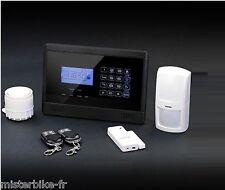 Pack Alarme Maison / Bureau Sans Fil GSM Avec Manuel En Francais DP-B1