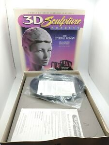 3D Sculpture Puzzles - Eternal Woman 1996 Challenging Layer Puzzle, New Open Box