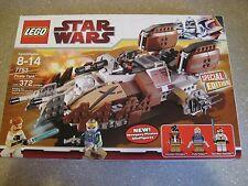 RETIRED 2009 LEGO STAR WARS SET 7753 PIRATE TANK NISB