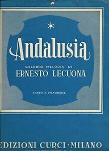 Andalusia Celebre Melodica di Ernesto Lecuona