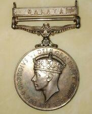 Malaysia MALAYA British 1939-1945 Medal