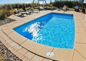 Fiberglass in-ground pool - 13 X27 - Sale  til 4-17  - Free delivery  & preplumb