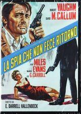 LA SPIA CHE NON FECE RITORNO (1966 Robert Vaughn) DVD NUOVO