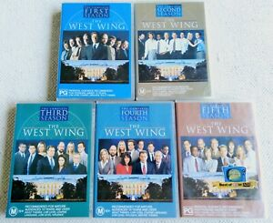 The West Wing TV Drama Series Seasons 1 2 3 4 & 5 DVDs