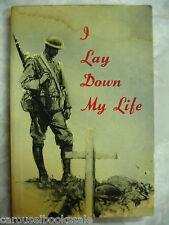 I Lay Down My Life Biography Joyce Kilmer by Harry Cargas pb 1964 A80