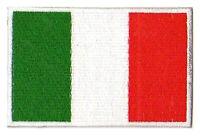 Patche écusson patch drapeau Italie Italien brodé thermocollant