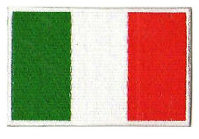 Patche écusson patch drapeau Italie Italien brodé thermocollant