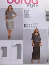 Burda Sewing Pattern 7241 Ladies Misses Skirt Size 18-34 Uncut