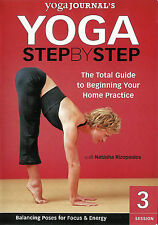 Yoga Journal's Yoga Step by Step ~ Session 3 with Natasha Rizopoulos ~ DVD