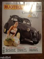 RUOTECLASSICHE Febbraio 2007 - Citroen 2cv, Garage Ferrari, Fiat 124 familiare