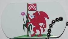 Cardiff Flag Tag - Trackable For Geocaching (Travel Bug Geocoin)
