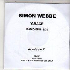 (DB72) Simon Webbe, Grace - 2007 DJ CD