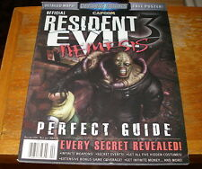 BRAND NEW MINT RESIDENT EVIL 3 NEMESIS Official Perfect Guide from Versus Books