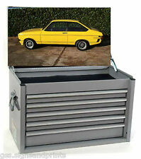 700X400MM YELLOW ESCORT TOOL BOX STICKER