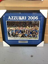 ITALY AZZURRI 2006 TEAM FRAMED PHOTO PRINT WITH PLAQUE. LOOKS GREAT ON WALL!