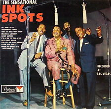 THE INK SPOTS: RECORDED IN LAS VEGAS 10 SELECTIONS DIPLOMAT RECORDS 33 LP