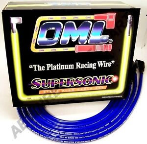 Spider 124 128 131 R17 High Performance 10 mm Blue Spark Plug Wire Set 39860B
