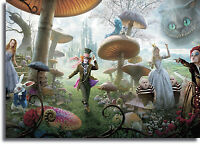 Alice In Wonderland Giant Framed CANVAS PRINT - A0 A1 A2 A3 A4 Sizes
