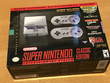 SNES Super NES Classic Edition NINTENDO GENUINE AUTHENTIC - Brand New