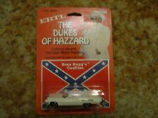 """1/64th scale ERTL """"Boss Hogg's Cadillac"""" of the The Dukes of Hazzard Item #1567"""