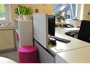 Akustik Raumteiler Absorber Sichtschutz Lärmschutz Schalldämmung Trennwand Büro