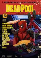 DEADPOOL MEETS PULP FICTION POSTER Marvel Movie Wall Art Print Photo A3 A4