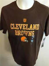 New Cleveland Browns Youth Size M Medium 10/12 Brown Shirt $20