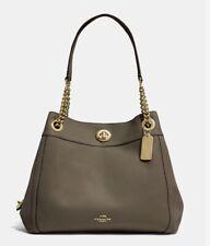 Coach Turnlock Edie Shoulder Bag 36855 Gd/Moss/Olive MRP395