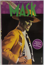 THE MASK : THE MASK OFFICIAL MOVIE ADAPTATION COMIC - SOFT COVER - BOXTREE 1994
