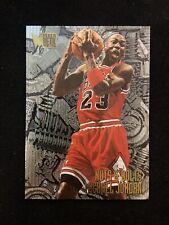1995-96 Fleer Metal Nuts And Bolts Basketball Card Of Michael Jordan