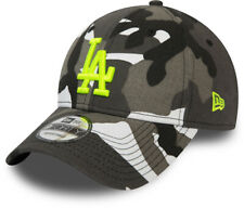 LA Dodgers New Era 940 Camo Essential Grey/White Camo Baseball Cap