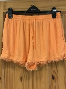 New Look Coral Shorts Size 12
