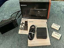 Sony DSC-RX100M3 20.1 MP Digital SLR Camera + Box, charger, manual, 2 batteries