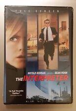 The Interpreter (DVD, 2005, Full Frame) ~ NEW & SEALED ~