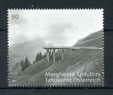 Austria 2017 MNH Margherita Spiluttini 1v Set Mountains Art Photography Stamps