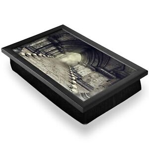Deluxe Lap Tray - Gothic Horror Castle Skulls Spider Webs Home Gift #16185