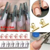 DIY Nail Extension Pinchers Manicure Tool Rusian C Curve Nail Pinching Clips