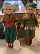 Robin Hood and Maid Marian International dolls