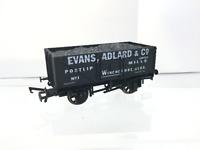Dapol/Glos & Warks OO Gauge 7 Plank Wagon Evans, Adlard (L2)
