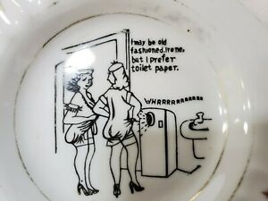 Vintage Office Humor Ashtray