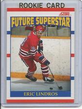 90-91 Score Eric Lindros Rookie Card RC #440 Mint (Canadian Version)