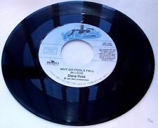 Diana Ross Why Do Fools Fall In Love '81 R&B Disco 45rpm New Reissue Unplayed NM