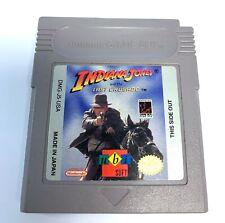 Indiana Jones And The Last Crusade Original Nintendo Gameboy Game Tested