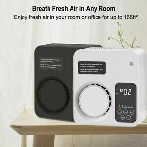 Ozone Generator Air Purifier Ioniser Cleaner Smoke Dust Pollen Home Air Filter