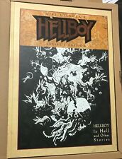 IDW MIKE MIGNOLA Artist Edition HELLBOY Original Art Book 1st Appearance 2014