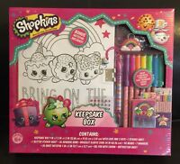 Shopkins Keepsake Box Lock & Key Set W/Bonus Notepad - 700099SD