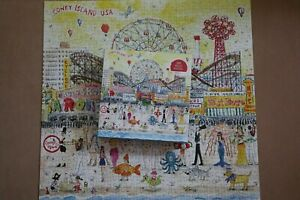 'Summer at the amusement park' 500 piece jigsaw puzzle, by Michael Storrings
