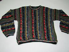VINTAGE TUNDRA CANADA COSBY STYLE SWEATER SIZE XL GREAT SHAPE RARE LOUD FUNKY
